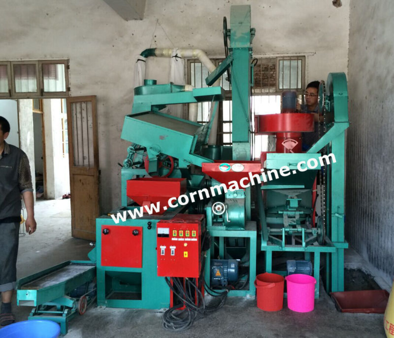 rice milling plant machine