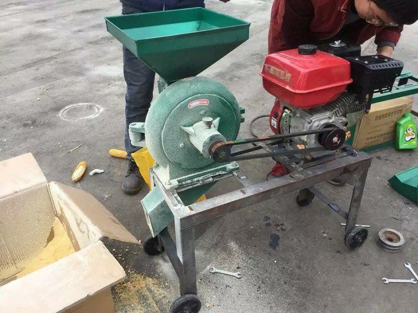 petrol grain mill machine