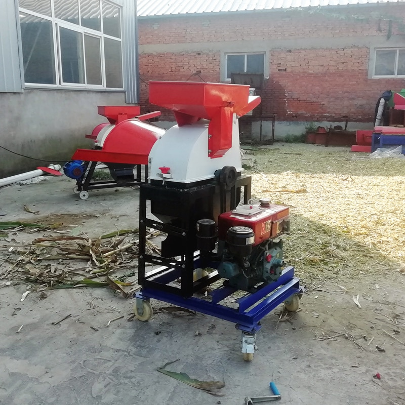 hammer mill combined with chaff cutter